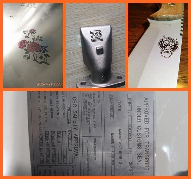 Kvaliteetne kuuma müügiga lauaplaadi kiudlaseriga märgistusmasin - Puidutöötlemisseadmed - Foto 5