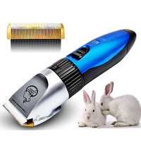 Pet Rabbit Dog Hair Professional Trimmer Motor Electric Charger Grooming Clippers Shavers Groomer Machine Hair Cutter