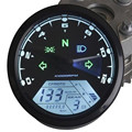 Universal 12000 RPM 199 KMH MPH Motorcycle Odometer Speedometer Tachometer Motorcycle