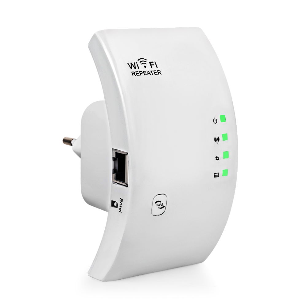 300 Mbps Wireless WIFI Repeater Signal Amplifier WiFi Signal Range Extender