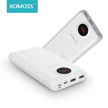 20000mAh ROMOSS SW20 Pro Portable Power Bank Charger External Battery QC3.0 Fast Charging With LED Display For Phones Tablet(China)