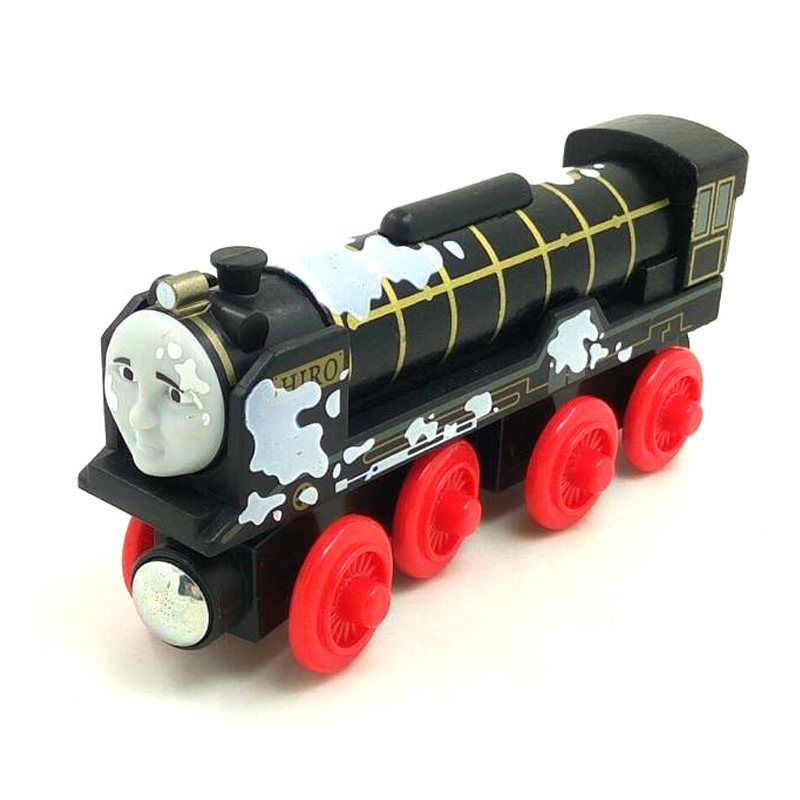 W85 free shipping RARE Original Paint version Hiro Thomas And Friends Wooden Magnetic Railway Model Train Engine Boy/Kids Toy