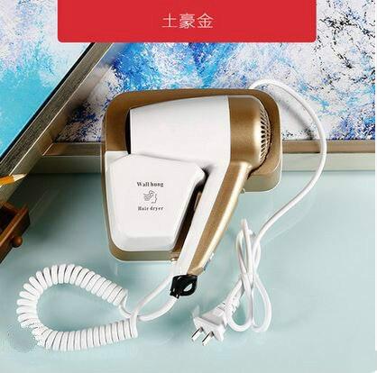 ヘアドライヤーホテル浴室、家庭用ヘアドライヤー、ウォールマウント電気乾燥機新 -