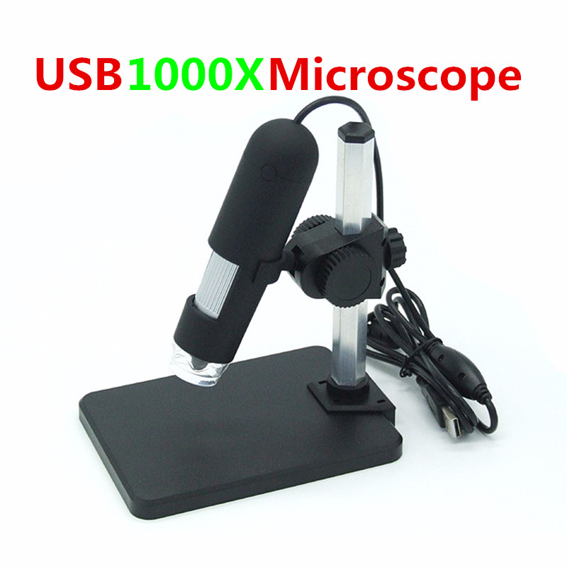 Minsvision 1000X USB Digital Microscope 8 LED Adjustable Camera Endoscope for Mobile Phone PCB Board Enlargement Inspection 500x wireless digital microscope usb video microscope hd screen electronic 8 led microscope for pcb mobile phone repair