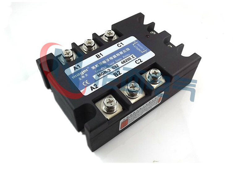 mager Three-phase solid state relay DC control AC MRSSR-3 MGR-3 032 48200Z 200A genuine three phase solid state relay mgr 3 032 3880z dc ac dc control ac 80a
