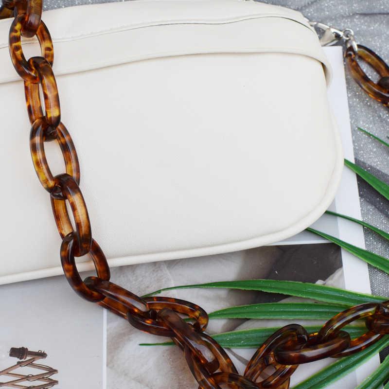 Мм любят 60 см конфетного цвета, женские прозрачные акриловые сумке легко застёгивающийся женские Наплечные ремни для сумок 1,5 см * 2 см размеры A107