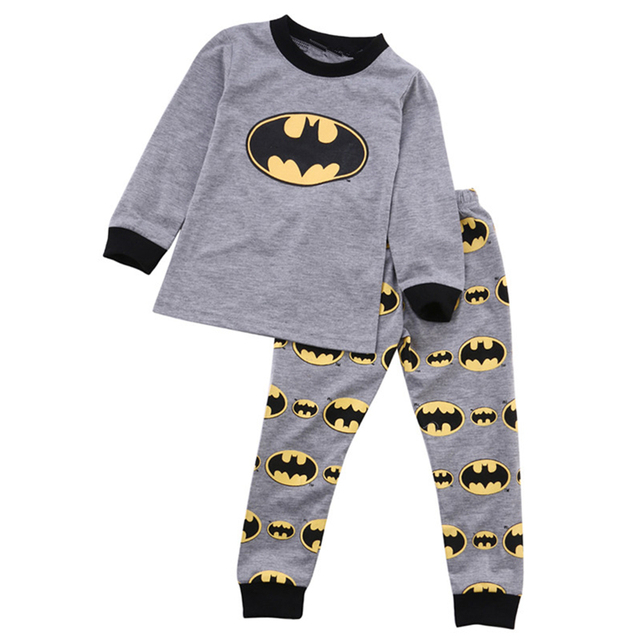 03be5c5c0adc baby boys batman clothing set children long sleeve top pants winter ...