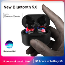 Mini True Wireless Bluetooth Headphones Noise Cancelling Sweatproof Sport Earbuds HIFI 3D Stereo Sound earphones