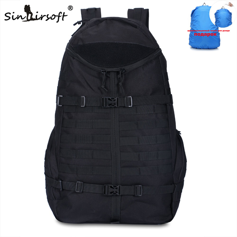 New Arrival! SINAIRSOFT 65L Large Capacity Sport Tactical backpack Hiking Camping Backpack Outdoor bag Military Travel Rucksack new arrival 38l military tactical backpack 500d molle rucksacks outdoor sport camping trekking bag backpacks cl5 0070