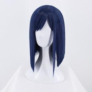 Image 4 - DARLING in the FRANXX Cosplay Wig Zero Two ICHIGO Halloween Costume Blue Synthetic Hair Perucas + Wig Cap