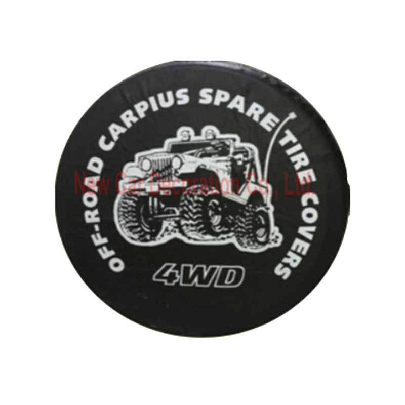 4X4 4WDシリーズ自動車スペアタイヤカバー14 15 16 - 自動車部品 - 写真 1