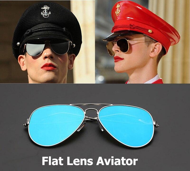 9ddca030717 JackJad 2018 New Fashion Men Flat Lense Aviation Style Sunglasses Women 58  mm Metal Frame Brand Design Sun Glasses Oculos De Sol-in Sunglasses from  Apparel ...