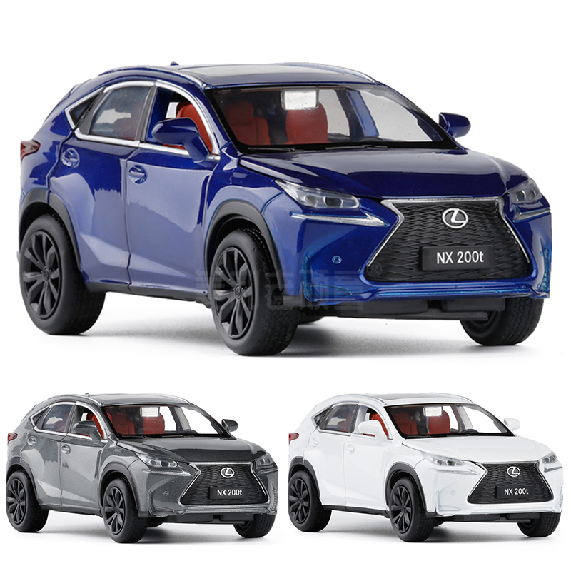Exquisite Gift 1:32 Lexus NX200T Luxury SUV Alloy Model,simulation Die-cast Metal Sound And Light Back Force Model,free Shipping