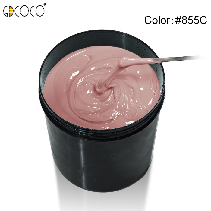 825# GDCOCO Poly 1kg New Hard Jelly Soak off UV LED Builder Camouflage Canni Supply