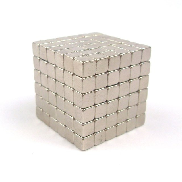 216 unids o 125 unids 5mm Cubos Magnéticos de Neodimio Imanes Bolas Puzzle Cubo Cubo Mágico Cubo DIY Magnética Juguetes
