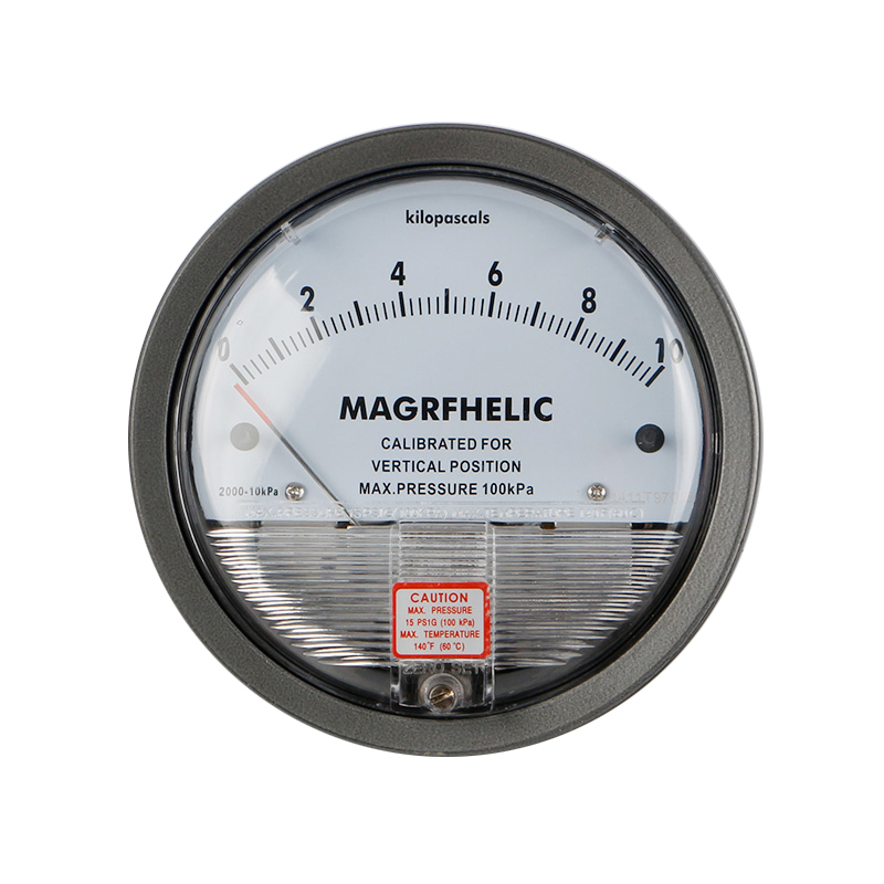 0-10KPA Micro Differential Pressure Gauge High Precision 1/8 NPT Round Type Pointer Instrument Micromanometer TE2000 0 1kpa micro differential pressure gauge te2000 high precision 1 8 npt air pressure meter barometer best sale
