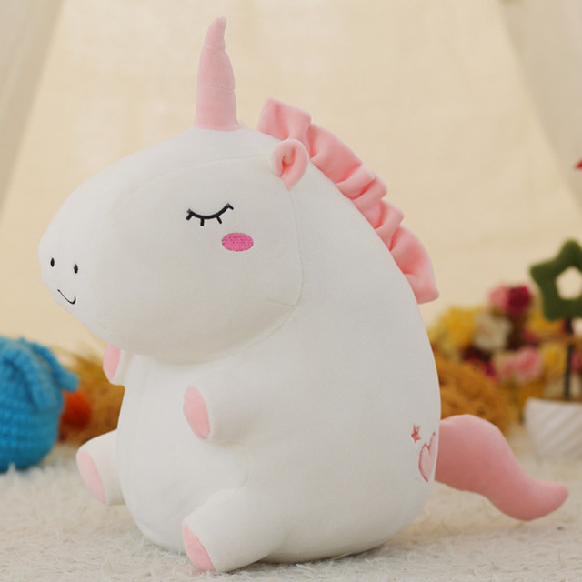 25CM FAT UNICORN PLUSH (2 VARIAN)