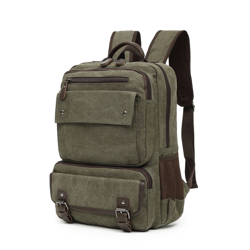 Canvas Backpack College Student Backpack For Teenagers High School For Boy Teenager Girls Backpack
