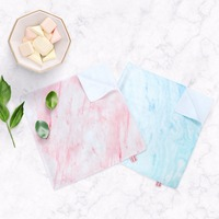 Creative marble pattern simple absorbent bamboo fiber towel bath towel