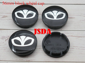 Image 3 - 4pcs 56mm 60mm Daewoo logo Car Wheel Center Cap auto rim refit Badge covers dust proof emblem sticker styling