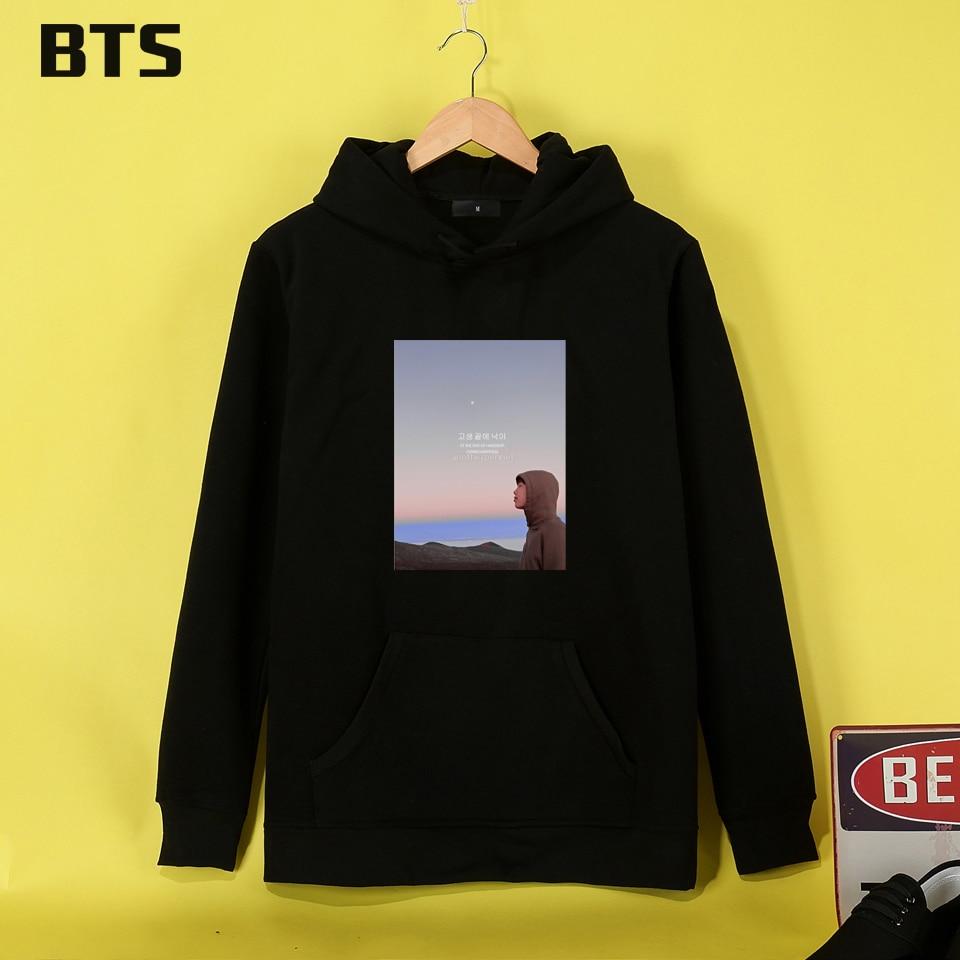 China-01 Store BTS BangTan Boys Kpop Hoodies Mulheres Fashion Funny Sweatshirt Women Plus Size Hipster Casual Brand Women Hoodies Sweatshirts