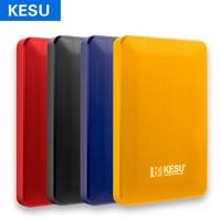 KESU 2.5'' External Hard Drive Disk USB3.0 HDD 1TB 2TB Portable HDD Storage for PC, Mac,Tablet, Xbox, PS4,TV,TV box 4 Color