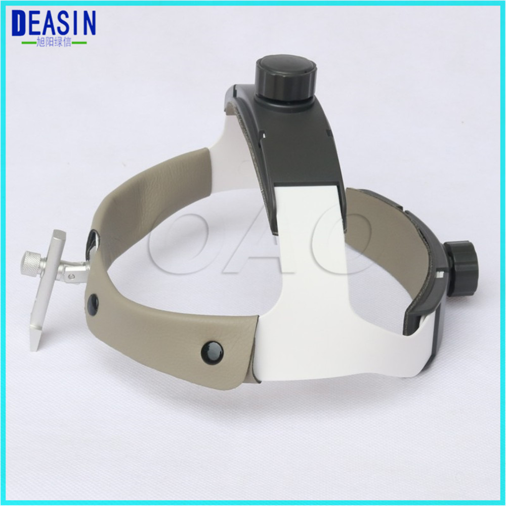 High Quality adjustable size Dental headband helmat for Portable LED Head Light Lamp Surgical Medical Binocular