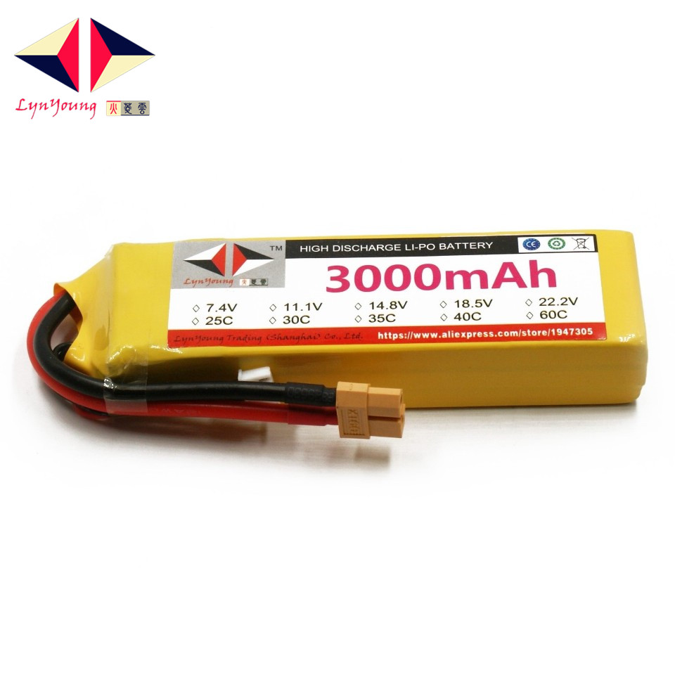 HX <font><b>Lipo</b></font> Battery <font><b>2S</b></font> 7.4V <font><b>3000mah</b></font> 25C 30C 35C 40C 60C For RC Drone Quadcopter Helicopter Airplane Boat Car image