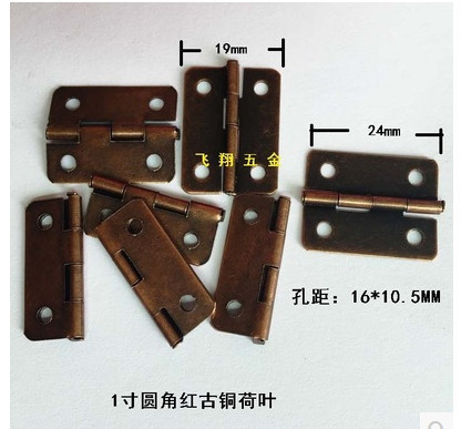 Antique Cabinet Hinges Furniture Accessories Jewelry Boxes Small Hinge  Furniture Fittings small hinges 24*19MM - Antique Cabinet Hinges Furniture Accessories Jewelry Boxes Small