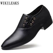 Neue designer große größe männer hochzeit kleid schuhe luxus marke leder oxfords schuhe für männer büro business schuhe sapatos masculino