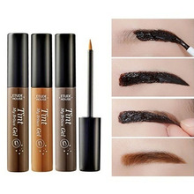 Long Lasting Peel Off Tint Gel Tattoo Makeup Eyebrow Cream Dye Color Beauty