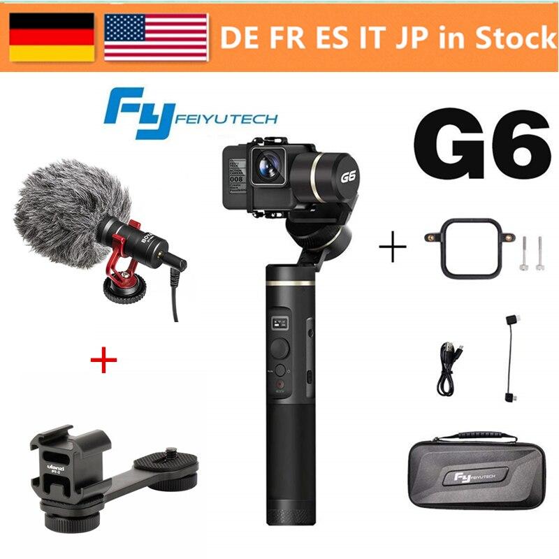FeiyuTech Feiyu G6 3 Axis Handheld Gimbal Stabilizer for action camera GoPro Hero 6 5 4