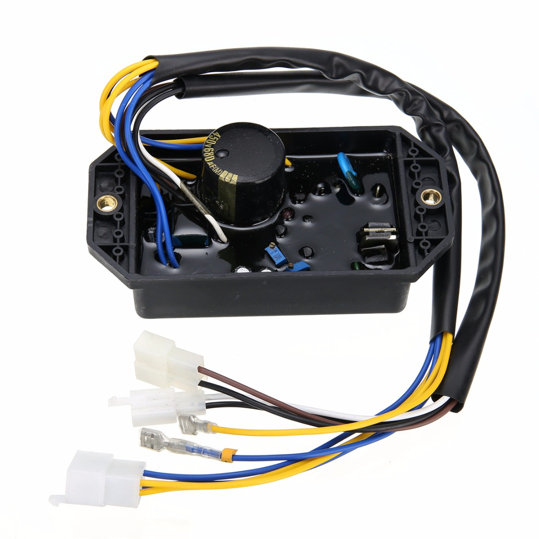 10 Wires GTDK AVR for Generator Automatic Voltage Stabilizer Regulator  Mayitr Generator Parts 148*80*30mm-in Generator Parts & Accessories from  Home ...