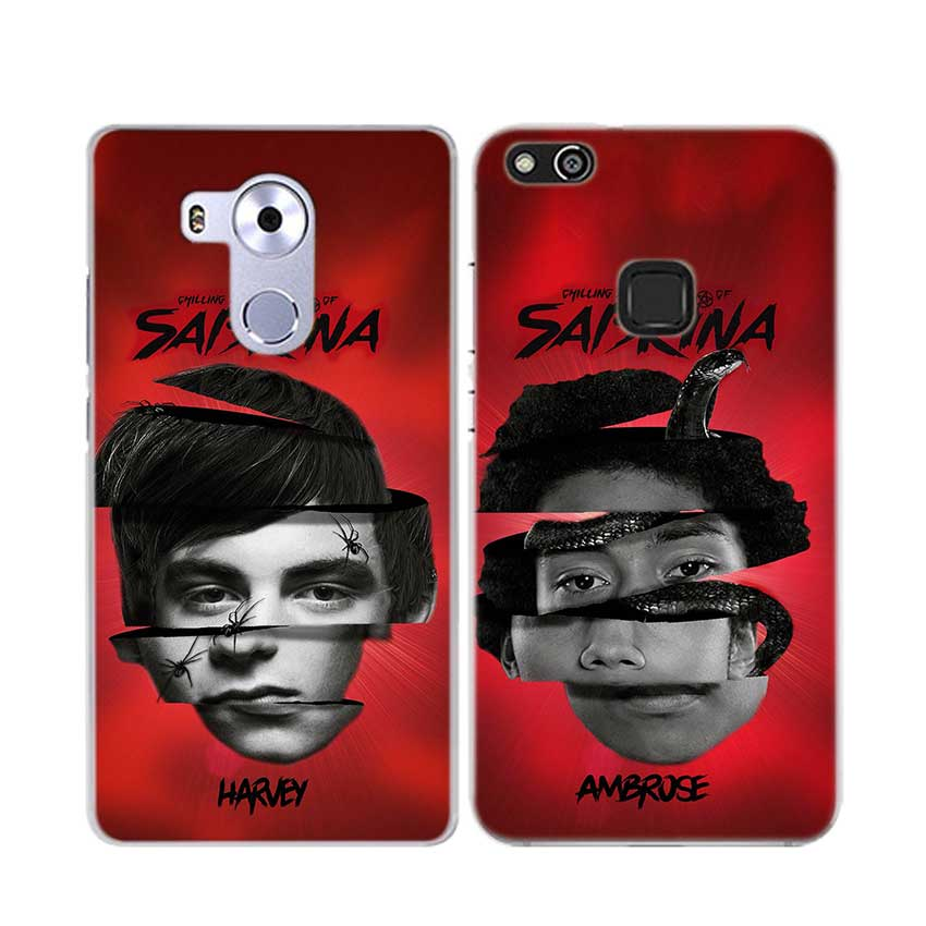 BINFUL Fashion Transparent hard phone case cover for Huawei Mate 7 8 9 S 10 20 Pro Lite X Chilling Adventures Sabrina in Half wrapped Cases from Cellphones Telecommunications