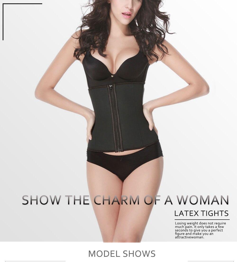 55821997b Women Body Shaper Plus Size XS-6XL Shapewear Waist Cincher Slimming Belt Corset  Adjustable Elastic Modeling fitness Shaper