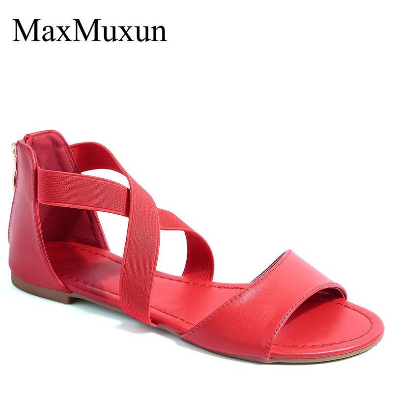 MaxMuxun Girls Footwear Cross Strappy Consolation Elastic Ankle Strap Summer season Vogue Flat Sandals Girls's Flats, Low-cost Girls's Flats, MaxMuxun Girls Footwear Cross Strappy Consolation Elastic Ankle Strap Summer...