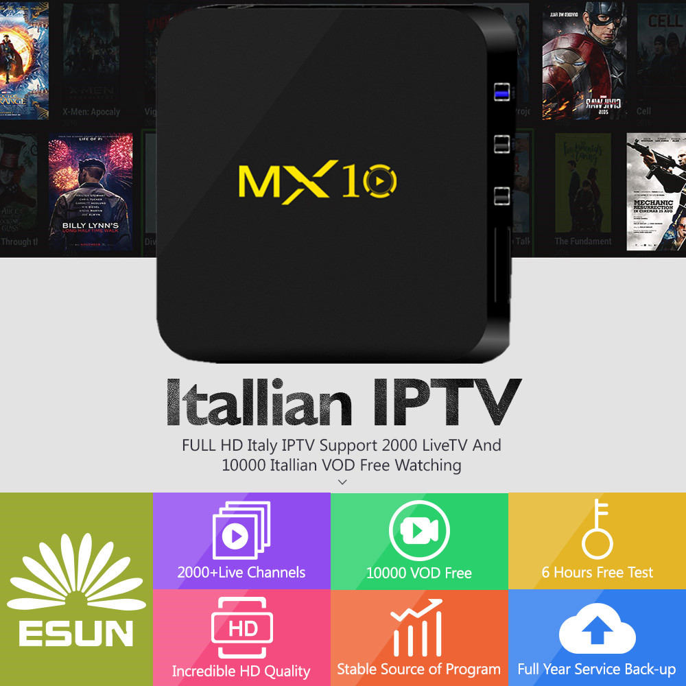 MX10 Smart TV Box Android 8.1 With 1 Year Switzerland/Spain/Sweden/Germany/Albania/Italy/Portugal/EX-YU/Europe/xxx 4000+CHANNELS italy iptv a95x pro voice control with 1 year box 2g 16g italy iptv epg 4000 live vod configured europe albania ex yu xxx