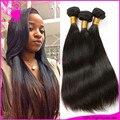 Ali Moda Straight Hair 7A Virgin Russian hair straight bundles 3pcs lot unprocessed virgin russian Straight hair extensions