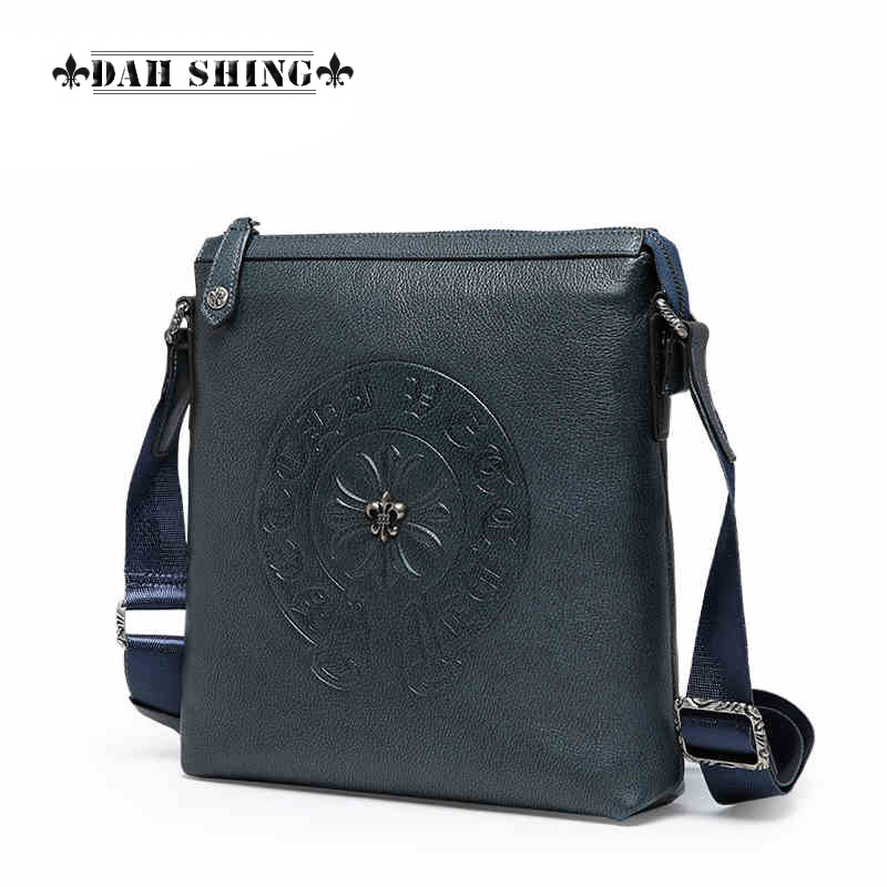 Style solid colors Top cowhide 100% men's genuine leather handbag messenger bag men's shoulder bag zipper closure dorothy perkins dorothy perkins do005ewhqb71