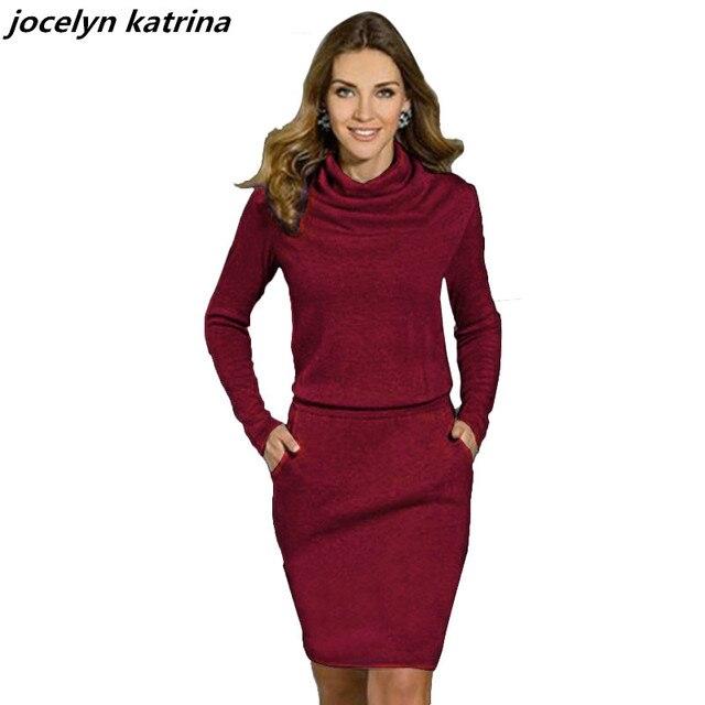 Jocelyn katrina marke Mode Frauen Reizvolle Dünne Bandage Rollkragen ...