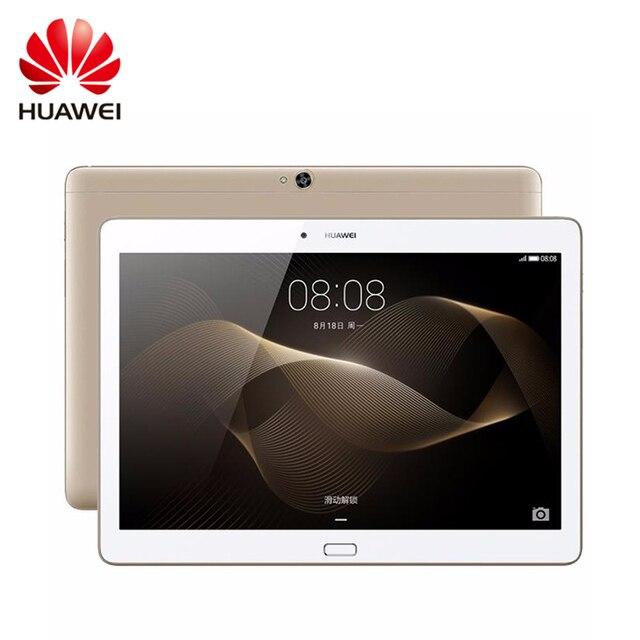 Оригинал Huawei MediaPad M2 10.0 16 ГБ/64 ГБ таблетки ПК GPS Android 10.1 дюймов LTE 3 ГБ Оперативная память KIRIN 930 Octa core 13MP Камера