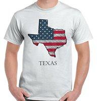 Штата Техас гордость американский флаг США Отечественной идеи подарков крутая футболка