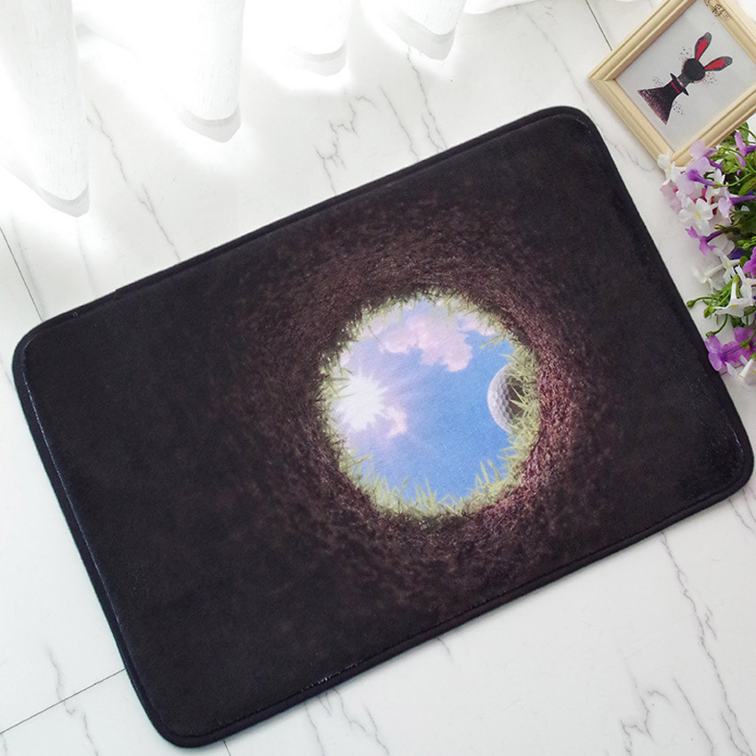 40*60 cm 3D Gedruckt Tür Matten Bad Teppich Matte Küche Teppiche Fußmatten Matte Anti-Slip Tapete Teppich tapis alfombra