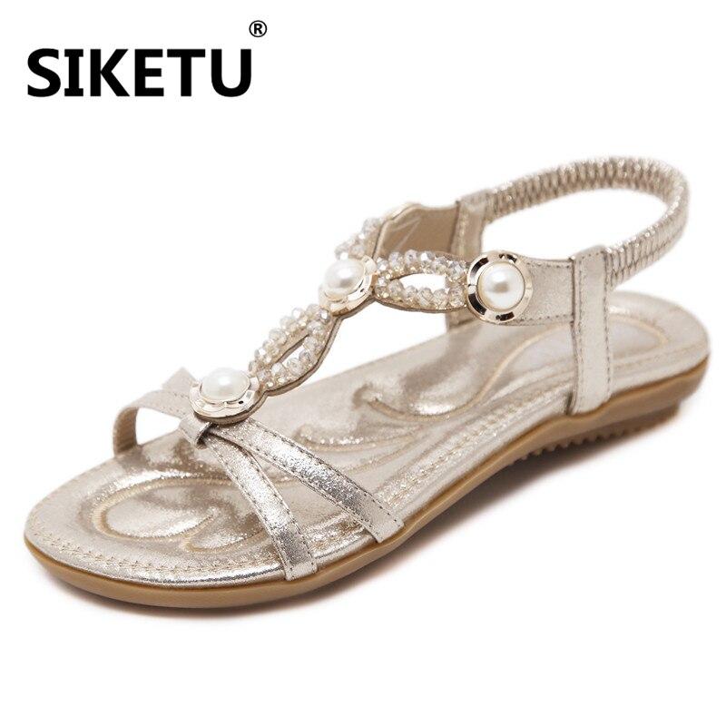 2018 Νέα χτενίσματα μόδας χάντρες - Γυναικεία παπούτσια