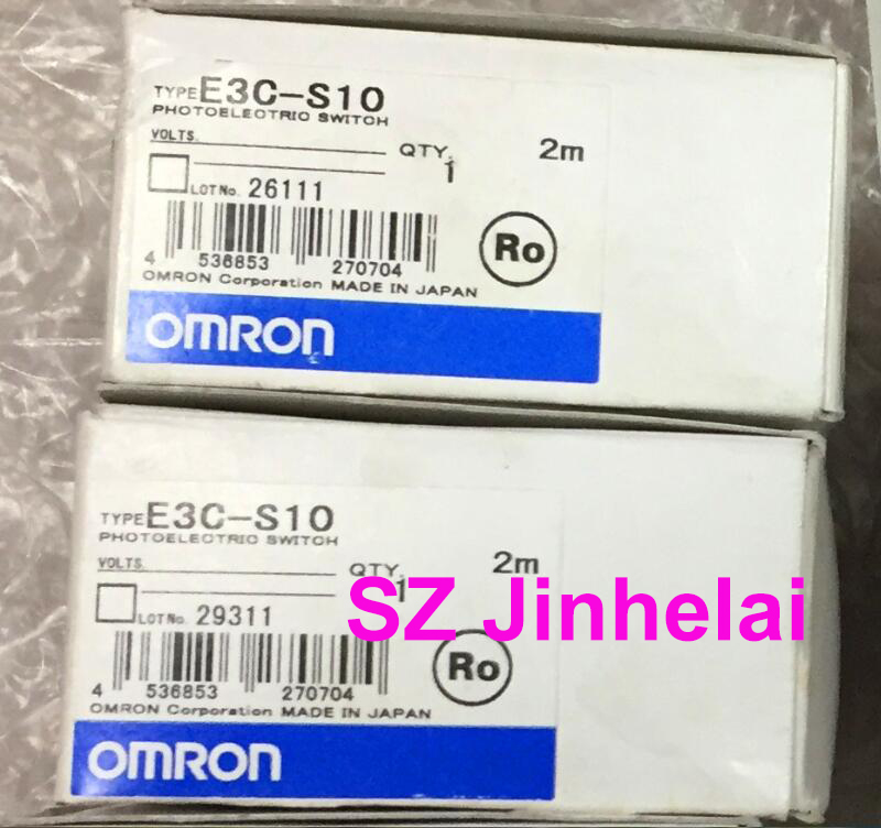 Authentic original E3C-S10 OMRON Photoelectric switch sensor 2M original sensor e3c jc4p