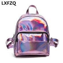Рюкзаки для девочек-подростков rugzak Лазерная ПВХ Mochila Feminina Модные женские рюкзак школьный рюкзак для девочки сумка