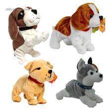 Электрические Собак Домашние Животные Звук Управления Робот Собака Кора Стоять Ходить Интерактивные Электронные Игрушки для Собак Игрушки Для Ребенка Рождественский Подарок