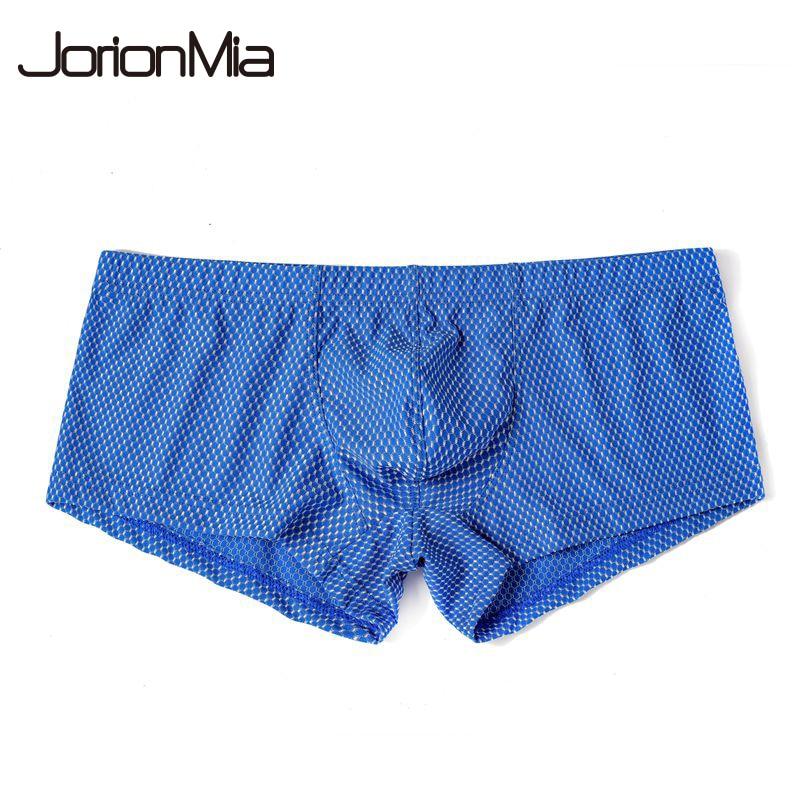Underwear Men Shorts Nylon Pure Male Masculina Soft B701 Cueca