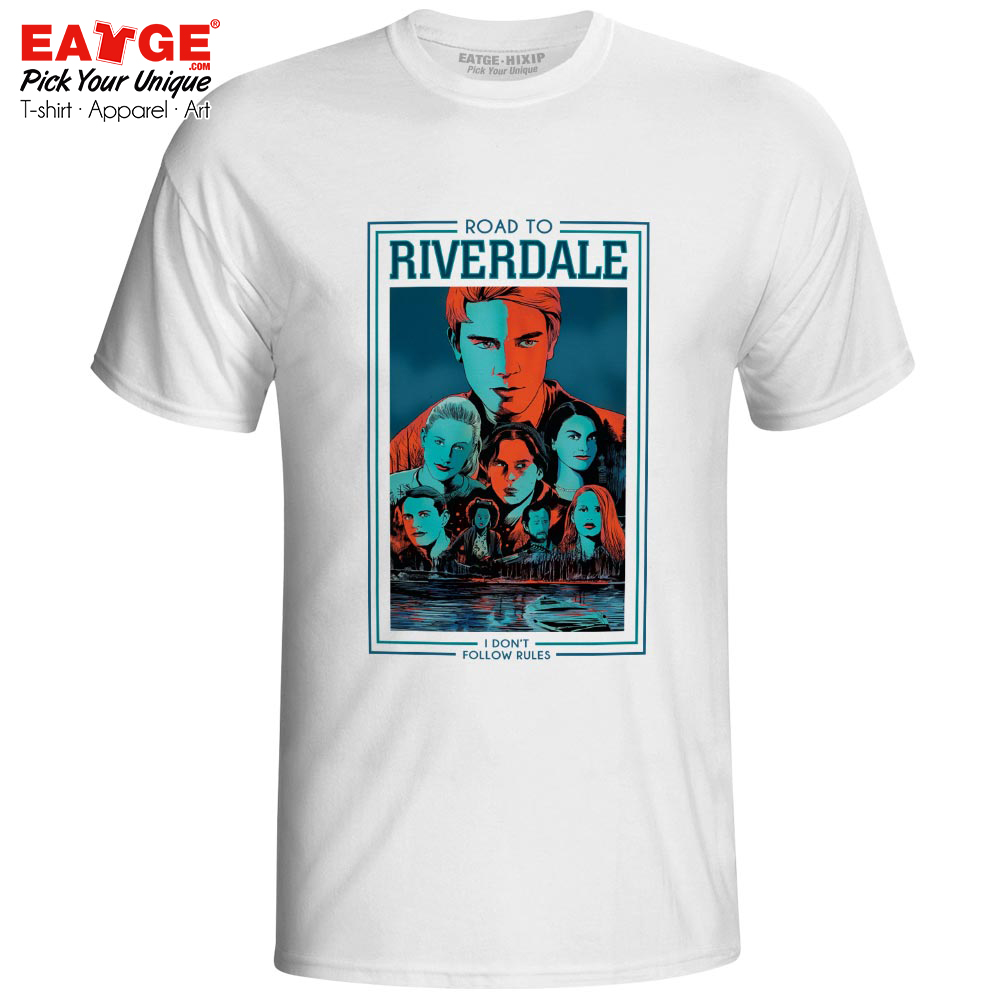 South Side Serpents T Shirt Riverdale TV Drama Novelty Rock Brand T shirt Casual Active Style Men Women Top Tee in T Shirts from Men 39 s Clothing