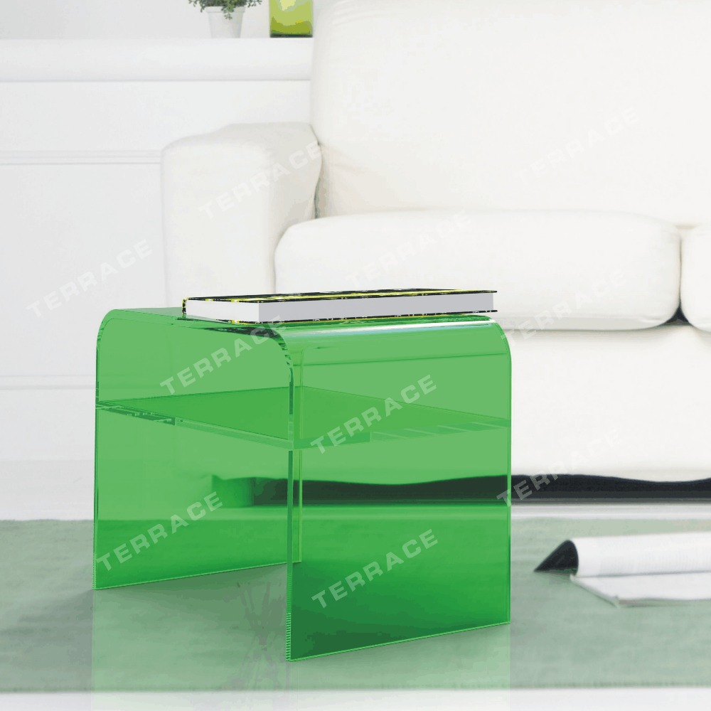Aliexpress.com : Buy Lucite Acrylic Coffee Tea Table,Waterfall Accent  Magazine Tables From Reliable Magazine Table Suppliers On TERRACE Furniture  And ...
